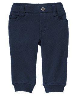 美國 ㊣ Gymboree官網 【Pull-On 束口彈性褲《深藍》.12-18M. 18-24M】~*☆ 現 貨☆