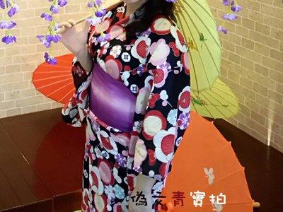 《偽文青》出租 黑梅花櫻花 浴衣 浴衣祭 日本 和服 cosplay 校慶 春酒 外拍 花火節