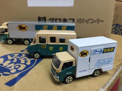 日本 黑貓 宅急便限定玩具車 kuroneko yamato 宅配車 非多美 tomica 聯結車 模型車 搬家車