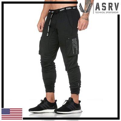瘋狂金剛▸ 光澤黑 ASRV Creora® Cargo Cinch Jogger 輕量大口袋慢跑褲