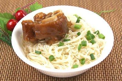 【萬象極品】滷豬腳圈/約1000g/包~鹹香入味豐富膠質的滷豬腳圈~簡單加熱就可上桌~老少咸宜經典菜色
