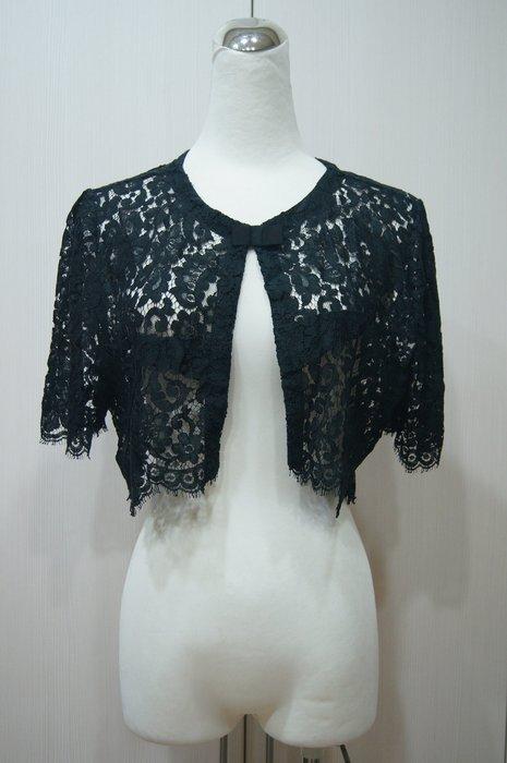 黑色蕾絲小外套    特價  3500