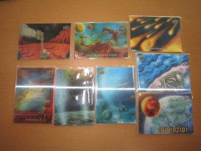 網拍讀賣~Mars/ Large Magellanic/ Uranus/ Europa~等~宇宙奇觀~3D~共8張~