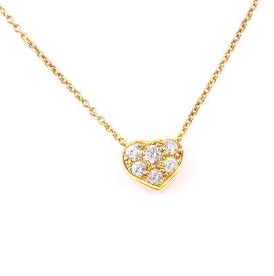 【JHT金宏總珠寶/GIA鑽石專賣】Tiffany&co項鍊/材質:750(JB47-B06)