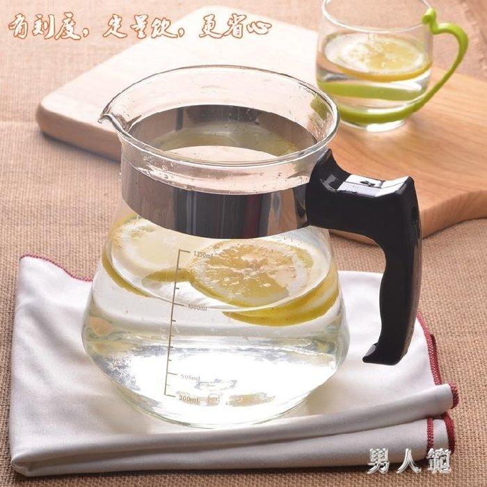 簡易茶具冷水壺 側把水果玻璃茶壺家用帶蓋過濾泡茶器sd218TWNRF