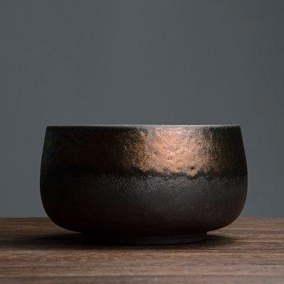 傳藝工坊 - 『鎏金茶洗』手工茶具 鎏金釉 鐵鏽釉 鐵金 茶洗 茶藝 日本茶道 紫砂 柴燒 可參考
