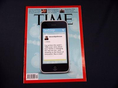 【懶得出門二手書】《TIME 2009.06.15》How Twitter is Changing(21F22)