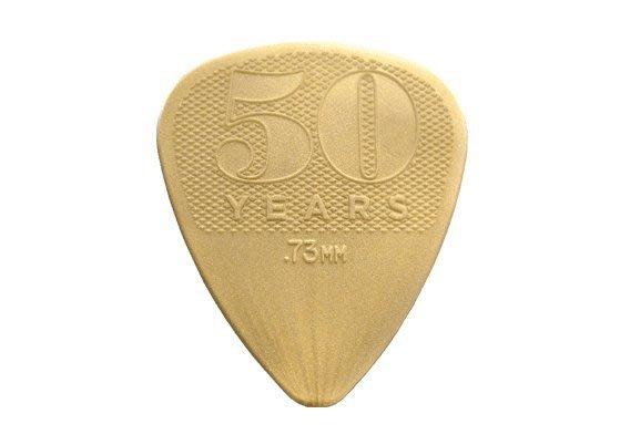 ☆ 唐尼樂器︵☆ Dunlop Gold Nylon 50週年紀念款烏克麗麗/木吉他/電吉他 Pick 彈片