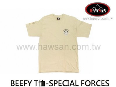 BEEFY T恤 沙-SPECIAL FORCES 特種部隊