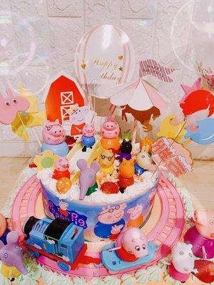 ❤歡迎自取 ❥ 雪屋麵包坊 ❥ 湯瑪士小火車系列 ❥ 佩佩豬全體系列 ❥ 八吋生日蛋糕 ❥❥ 85 折優惠中