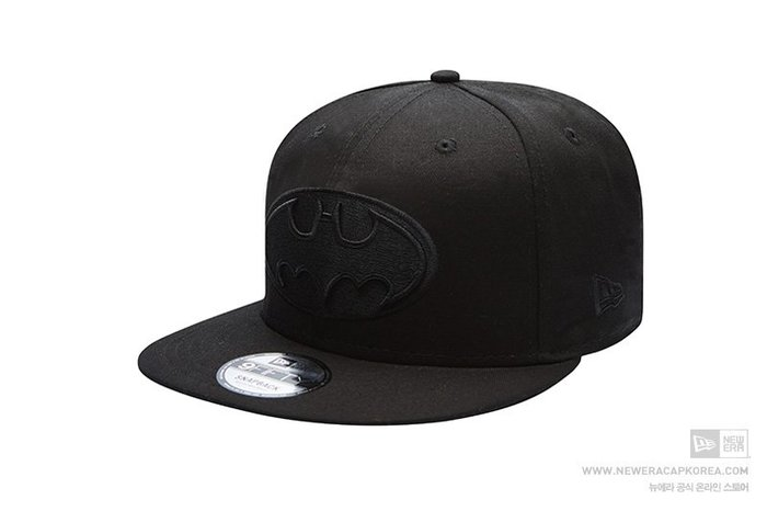 【Easy GO 韓國潮牌代購】NEW ERA x Batman蝙蝠俠 聯名款平簷式後扣棒球帽