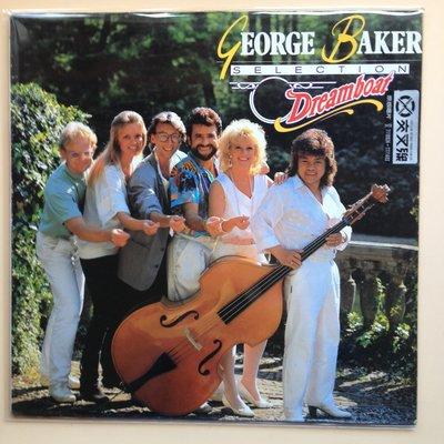 X黑膠唱片 英語  原版 45轉GEORGE BAKER 封面佳 片況可 換新內外袋 DREAMBOAT