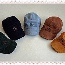 。~ 寶貝可愛 ~。韓國精選Bien- aehem童話樂園,fox corduroy cap帽子 17年秋品現貨