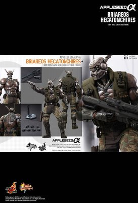 Hot Toys MMS269 士郎正宗 蘋果核戰 Appleseed Alpha Briareos Hecatonchires Figure 玩具狂熱 dx