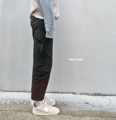 (限時.優惠-現貨)韓國鬆緊腰工作褲長褲
