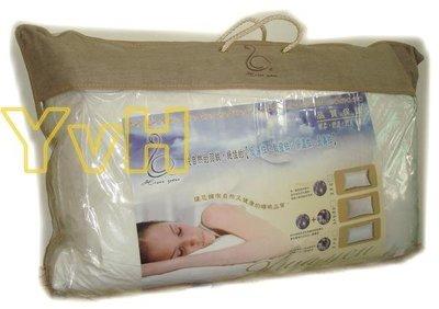 ==YvH==Pillow 台灣製頂級羽絨枕頭100%純天然水鳥羽 50%Down 防絨立體剪裁 仿麋皮袋(現貨)