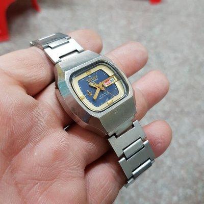 ☆機械錶<行走順暢>日本 TELUX 36mm 早期漂亮 老錶 男錶 另有 賽車錶 飛行錶 軍錶 潛水錶 水鬼錶 女錶 中性錶 E07