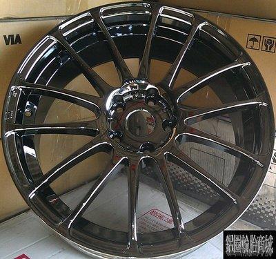 全新鋁圈 wheel PR11 18吋鋁圈 5/114.3 5/100 黑電鍍 7.5J 8J ET45 ET48
