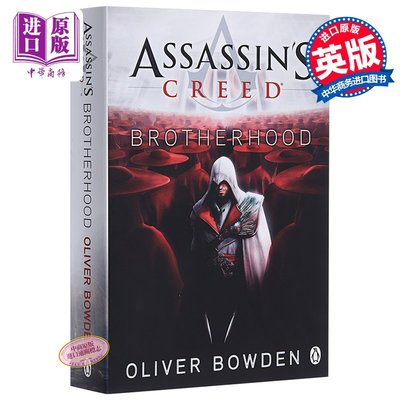 Assassin's Creed: Brotherhood 刺客信條兄弟會英文原版小說 書