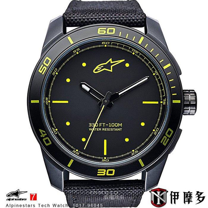 伊摩多※義大利 Alpinestars Tech Watch 手錶 腕錶 運動 奢華時尚 A星 1017-96045