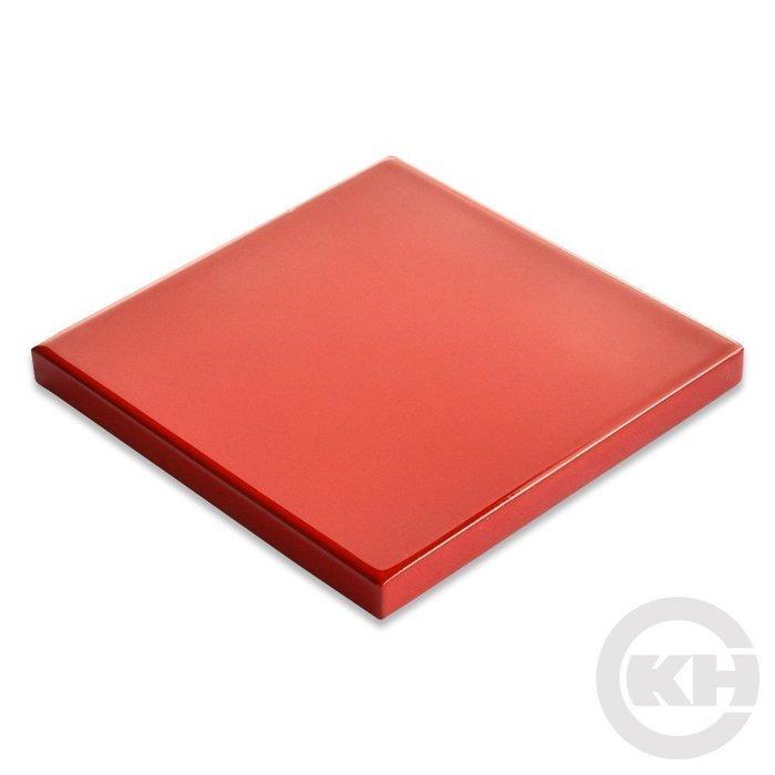 【正光興貿易】『CASHEW總代理』面漆/漆板 (紅色) 10x10cm