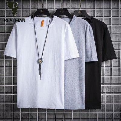 Realman男裝店 ~ 男士韓版潮流修身內搭素面打底衫短袖百搭t恤 ~t恤背心短袖長袖襯衫馬甲外套上衣
