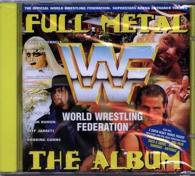 【嘟嘟音樂2】World Wrestling Federation - WWF Full Metal  (全新未拆封)