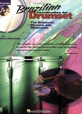 [反拍樂器] Brazilian Coordination for Drumset 進口爵士鼓教材