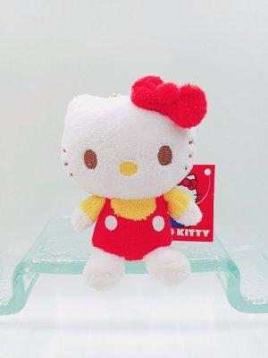日本三麗鷗 HELLO KITTY公仔鑰匙圈吊飾