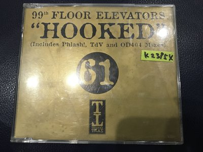 *真音樂*99TH FLOOR ELEVATORS / HOOKED 二手 K23954