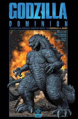 [代訂]哥吉拉大戰金剛 Gvk Godzilla Dominion(英文漫畫)9781681160788