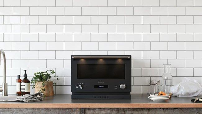 品味與質感兼具  BALMUDA The Range 微波爐烤箱