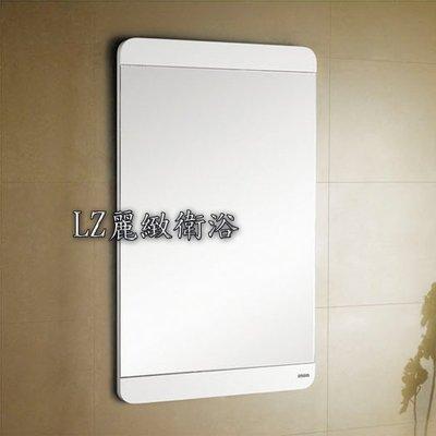 ~ LZ麗緻衛浴~60公分防水發泡板鋼琴烤漆圓角長方形浴鏡(無波紋明鏡) L-179-60-80