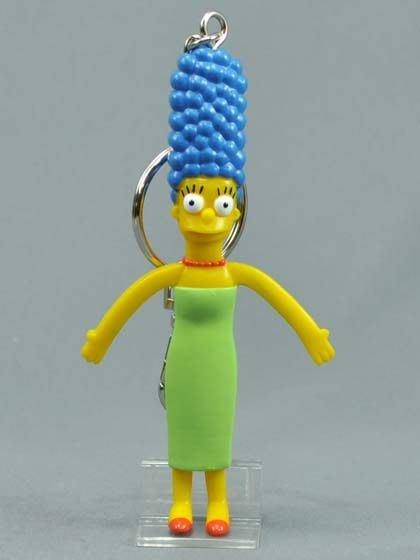 (I LOVE樂多)日本進口 辛普森家族Simpson 美枝鑰匙圈 送人自用兩相宜