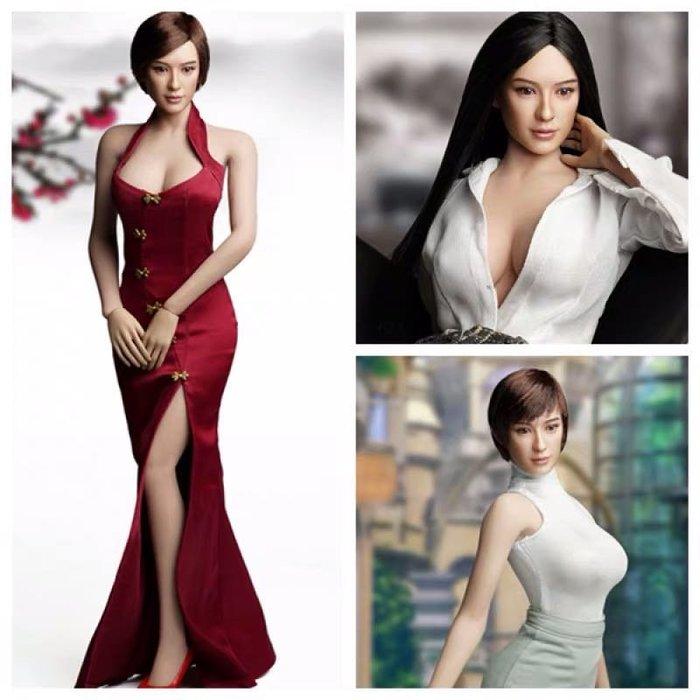 James room#甄嬛傳 SUPER DUCK SDH013 1/6  亞洲美女頭雕 似 孫儷 A B C 三款 可選 包膠素體可用 不含素體