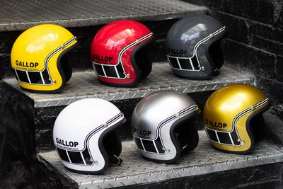(I LOVE樂多) Gallop 3/4復古安全帽  #4-MACH/馬赫 六色可選 完美比例小帽體 舒適好戴全可拆洗
