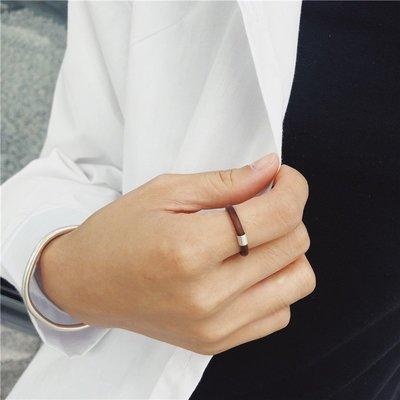 戒指 對戒 首飾 Chicken's blood rattan ring雞血藤戒指男女簡約尾戒情人節禮物