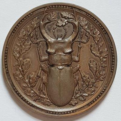 德國銅章1905 Germany International Entomology Exhibition Medal.