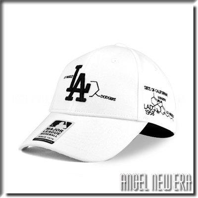 【ANGEL NEW ERA 】 MLB Old Fashioned Cap 洛杉磯 道奇 LA 白 老帽 化學式