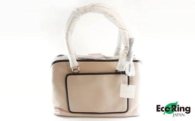 [Eco Ring HK]*Kate Spade Tote Way Bag/Leather/Pink*RankS-197023258-