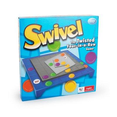 【愛蜜莉生活館】智力桌面遊戲/家庭聚會桌遊Swivel/3D旋轉棋盤/SWIVEL新款四連棋旋轉成一排/旋轉四連棋
