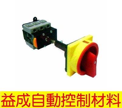 【益成自動控制材料行】TEND 80A分離式圓形把手(桿長300mm)TDS80-BRR3