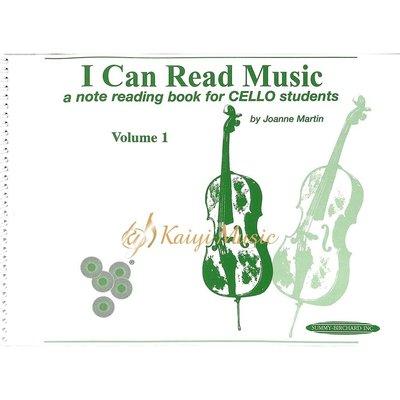 Kaiyi Music ♫Kaiyi Music♫ 大提琴視譜練習第一級I can read Music Cello Volume 1