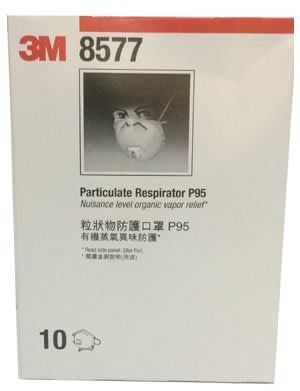 3M 8577 P95 3M口罩 保證新品 10個/盒 [ 好好防護 ]