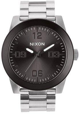 士林手錶專家-NIXON THE CORPORAL SS 曠野風潮腕錶 A346-1762