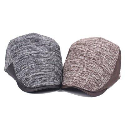 貝雷 帽 鴨舌帽-秋冬保暖休閒時尚男女帽子2色73tv240[獨家進口][米蘭精品]
