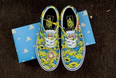 玩具總動員 Toy Story x Vans 聯名 Authentic 三眼仔 Squeeze Toy Aliens