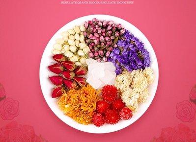 綜合花包 食用花 乾燥花 養顏茶-24包/2盒