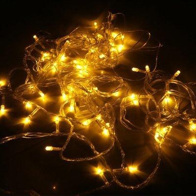 聖誕節LED燈裝飾彩燈聖誕節裝飾品商場酒店KTV場景裝飾暖黃LED燈