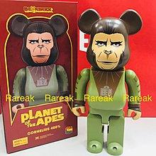 Medicom Bearbrick 2019 The Planet of the Apes 400% Cornelius 博士 猿人爭霸戰 Be@rbrick